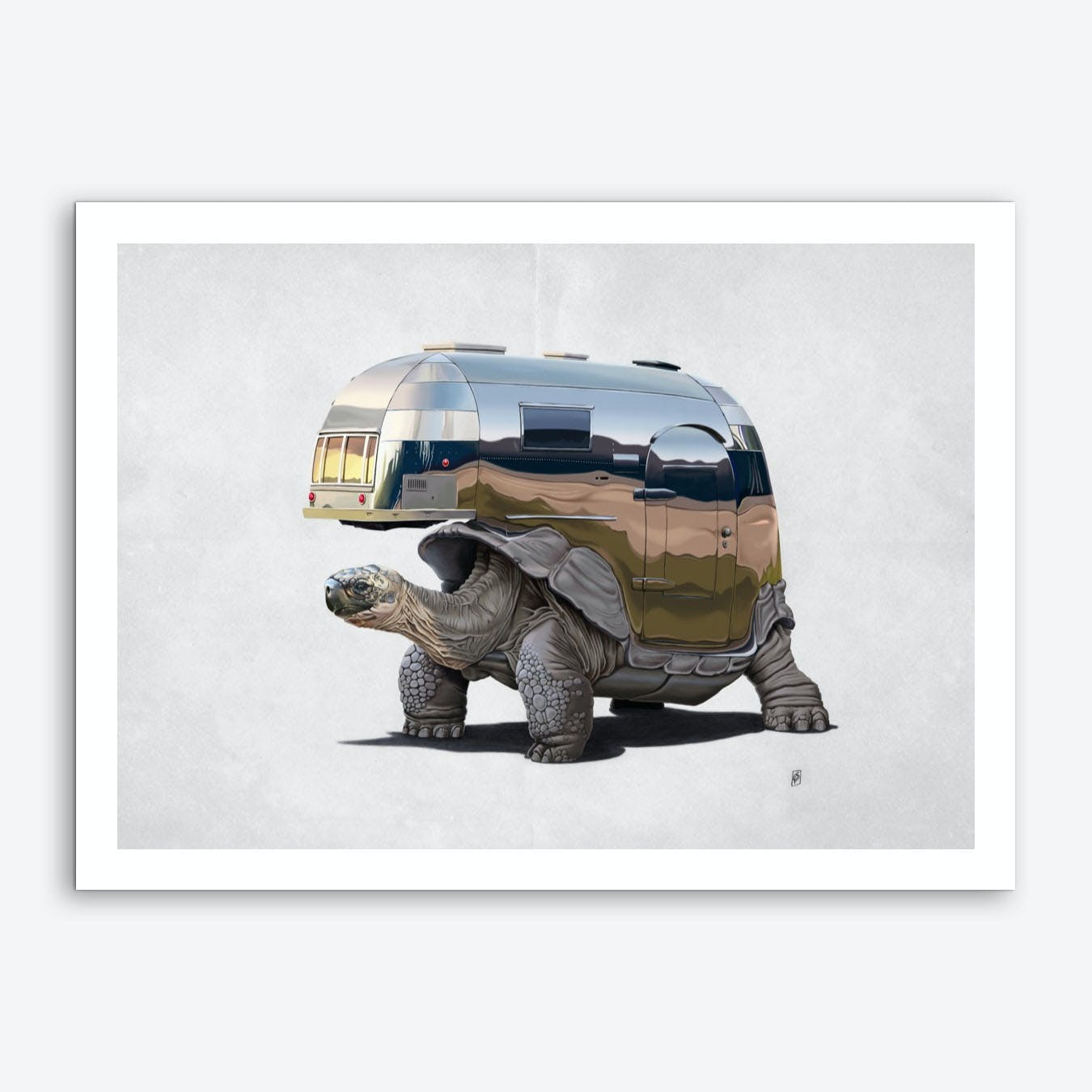 Pimp My Ride (Wordless) Art Print