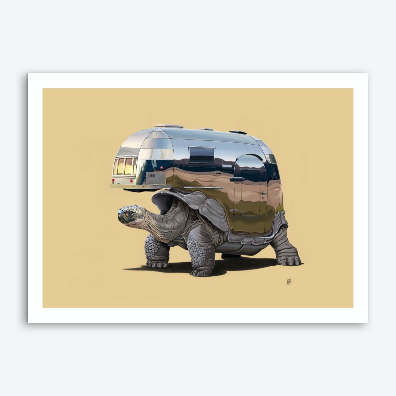 Pimp My Ride (Colour) Art Print