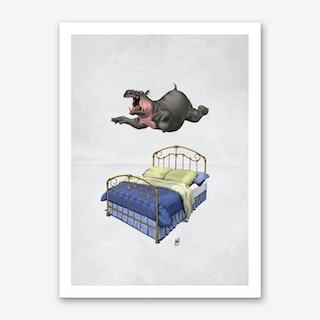 Break Time (Wordless) Art Print