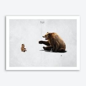 Brunt Art Print