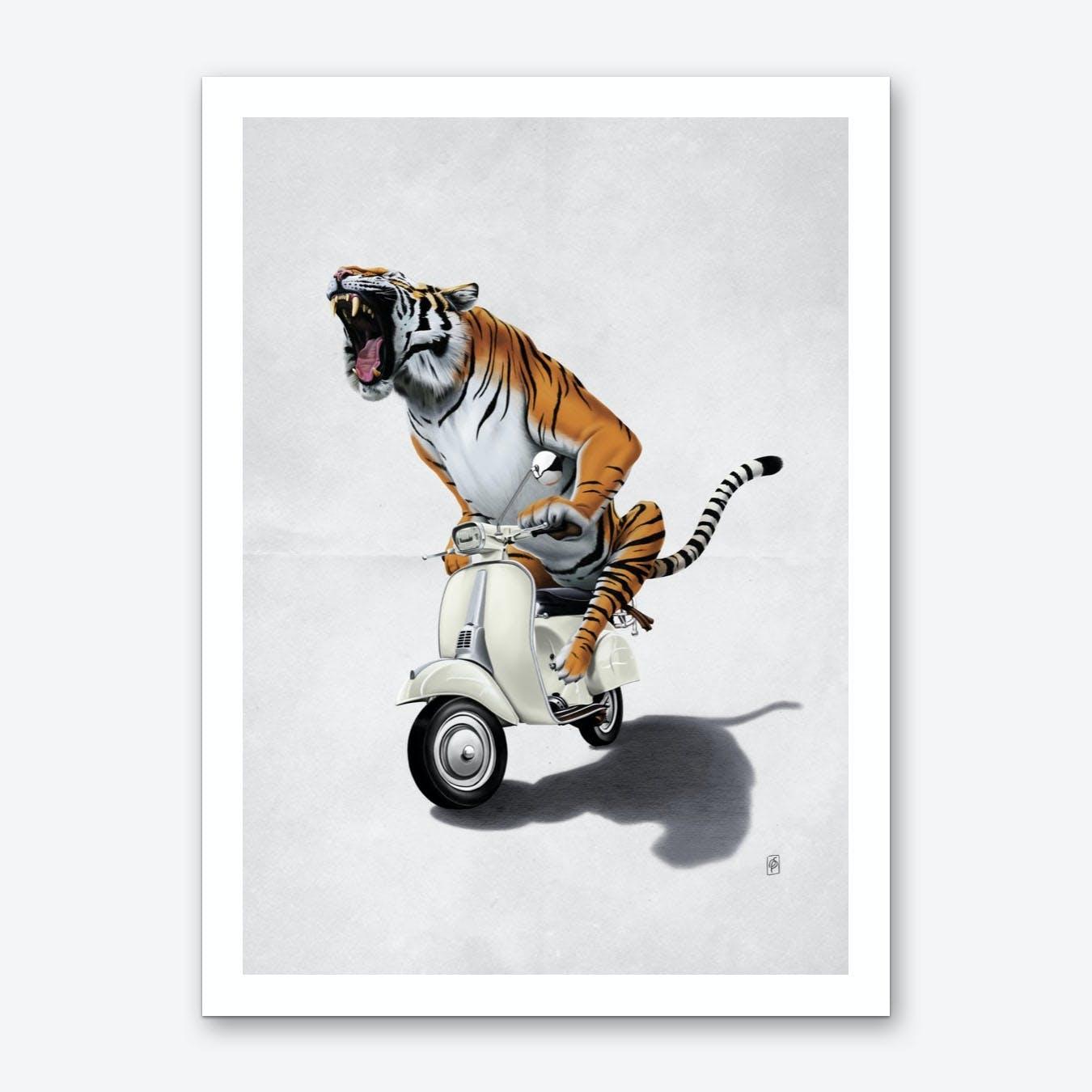 Rooooaaar! (Wordless) Art Print