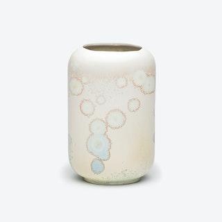 Porcelain Crystalline Vase - Opal