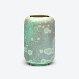 Porcelain Crystalline Vase - Jade