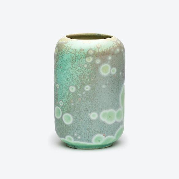 Porcelain Crystalline Vase Jade By Rlote Design Studio Fy