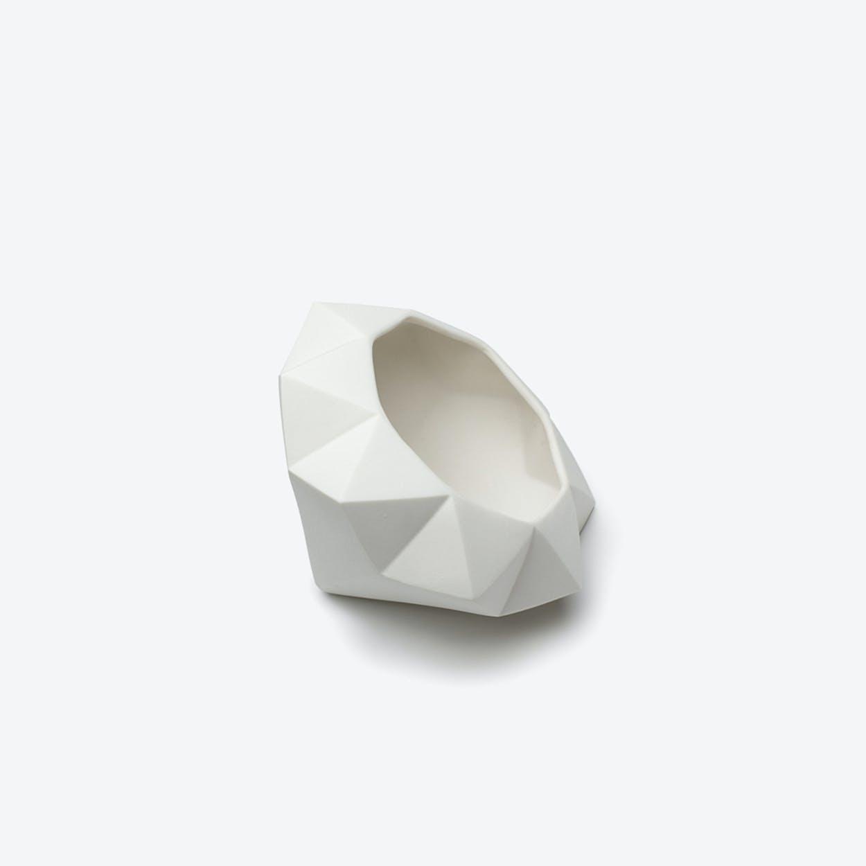 Porcelain Diamond Lab Salad Bowl