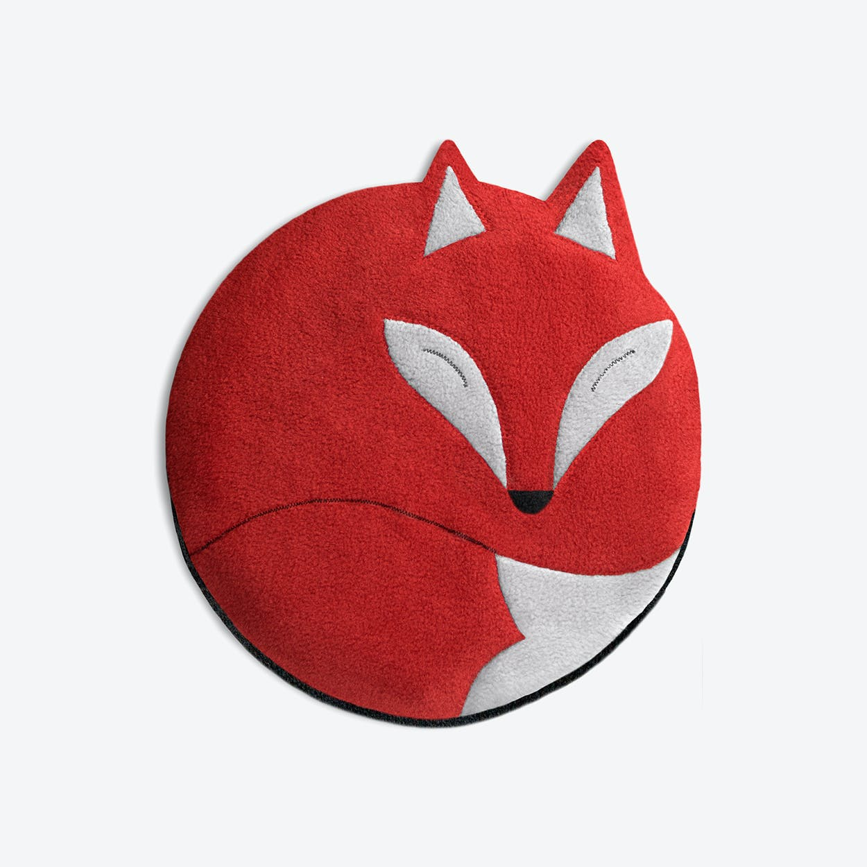 Warming Pillow, Luca The Fox in Red / Black
