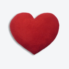 Warming Pillow, Warming Heart, Big in Red