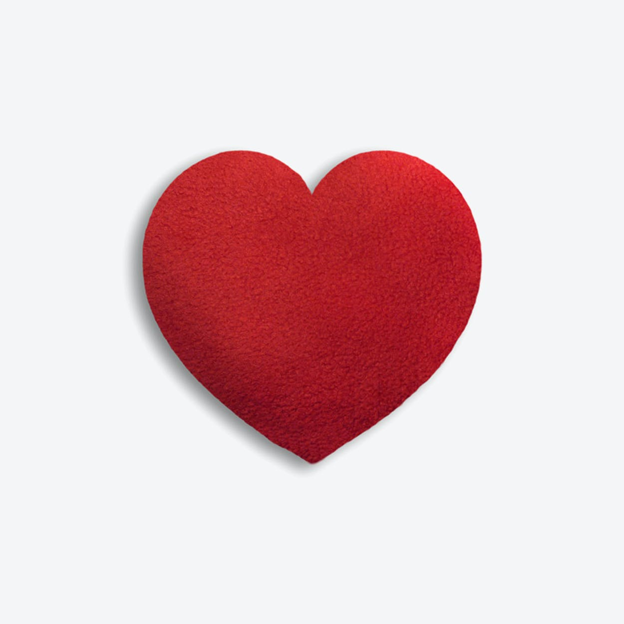 Warming Pillow, Warming Heart, Small in Red