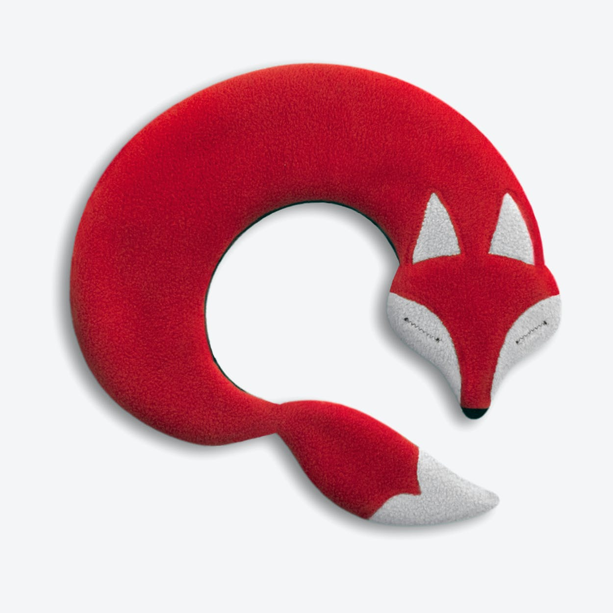 Warming Pillow, Noah The Fox in Red / Black
