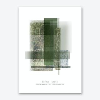 Bottle Green Art Print