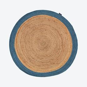 Roberta 59 Natural/Blue Rug