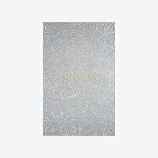 Monte Carlo Light Blue/Silver Rug