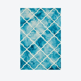 Batik Blue Rug