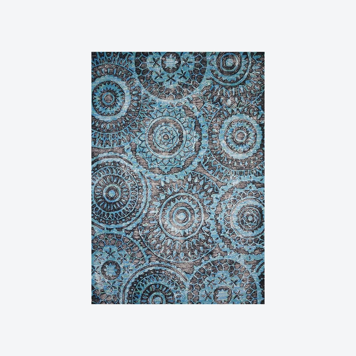 Ontario Turquoise Rug