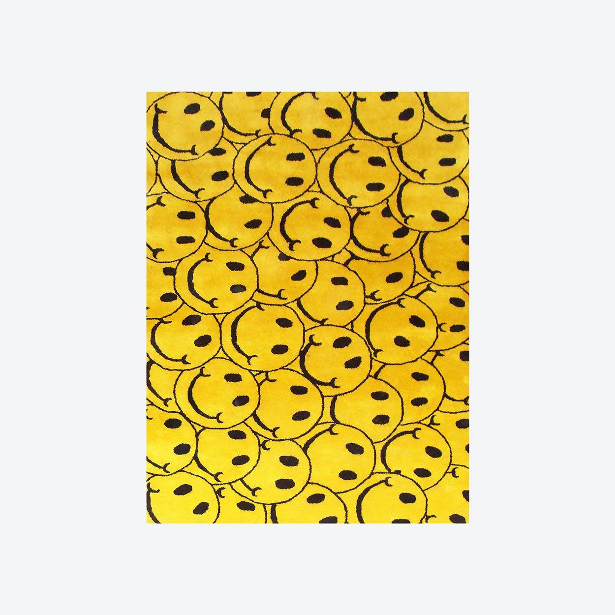 Smile Yellow Rug
