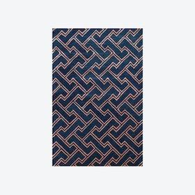 Stapples Dark Blue Rug