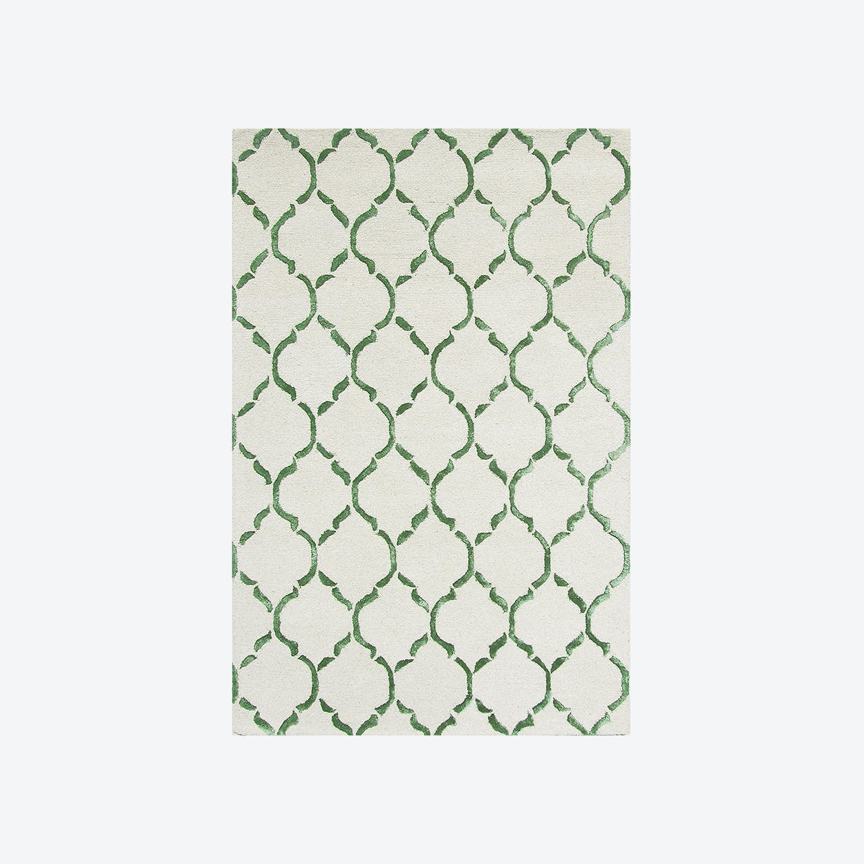 Chain Green Rug