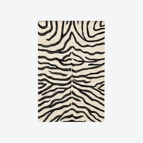 Zebra Black Rug