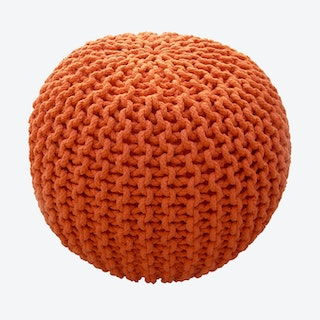 COOL Pouf in Orange