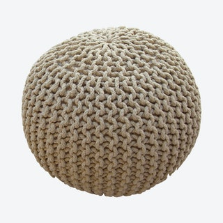 COOL Pouf in Beige