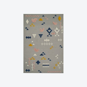 Mexico D37 D Rug in Grey