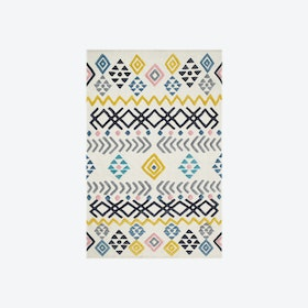Mexico D38 B Rug in Ivory