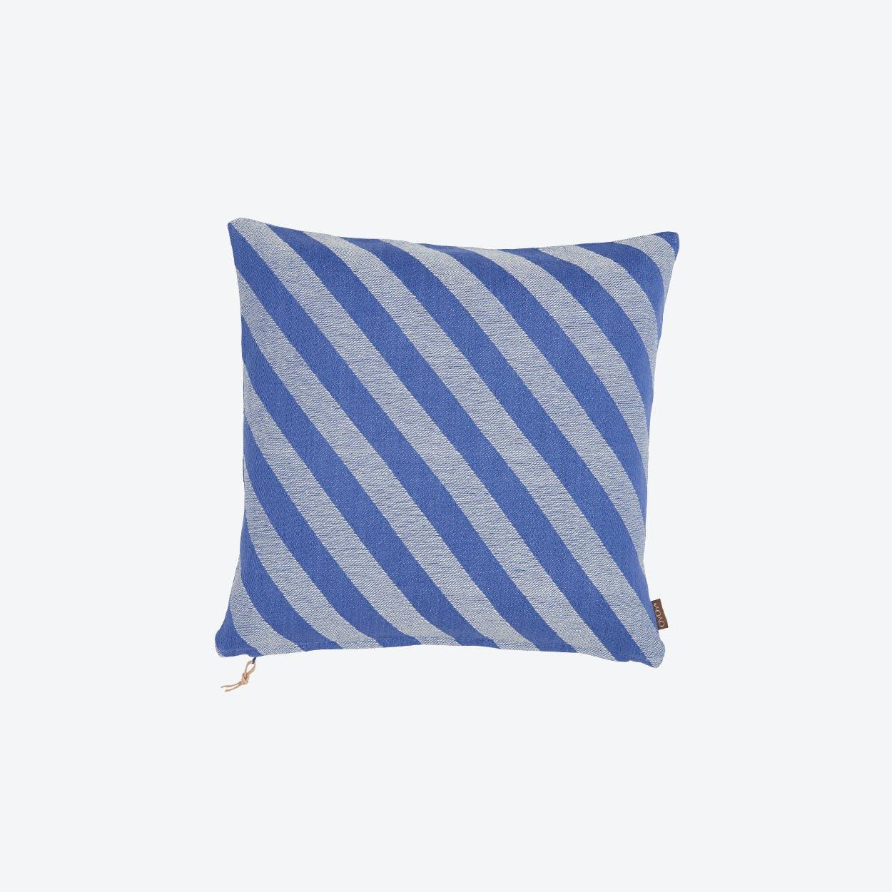 Fluffy Cushion in Blue