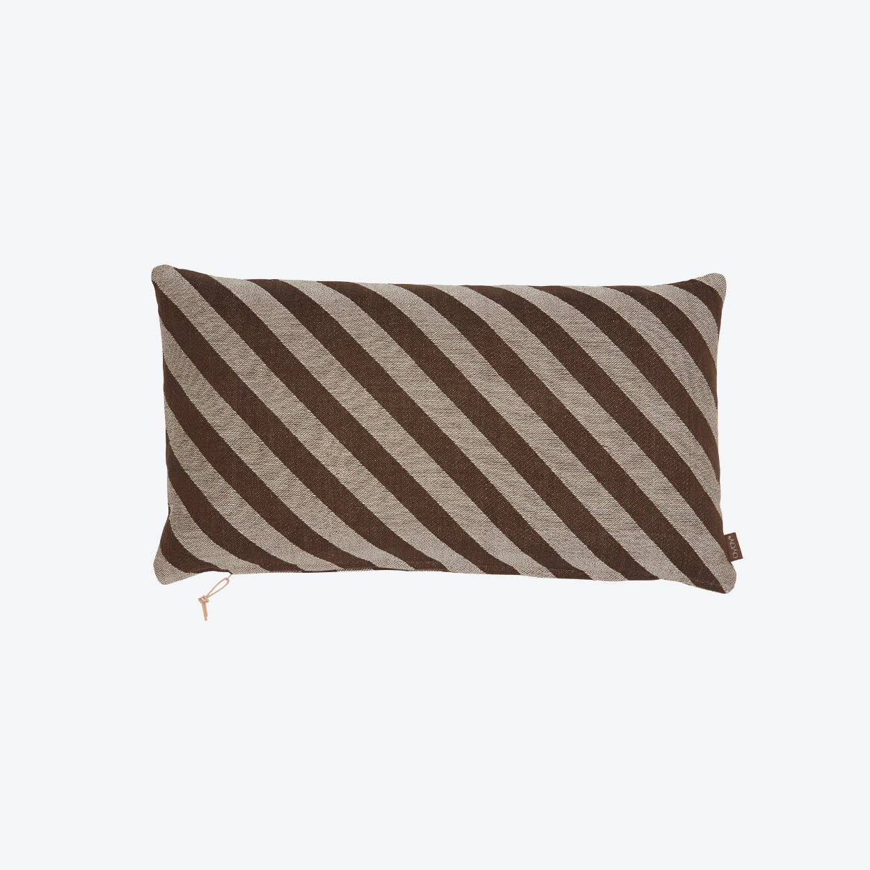 Fluffy Cushion in Brown