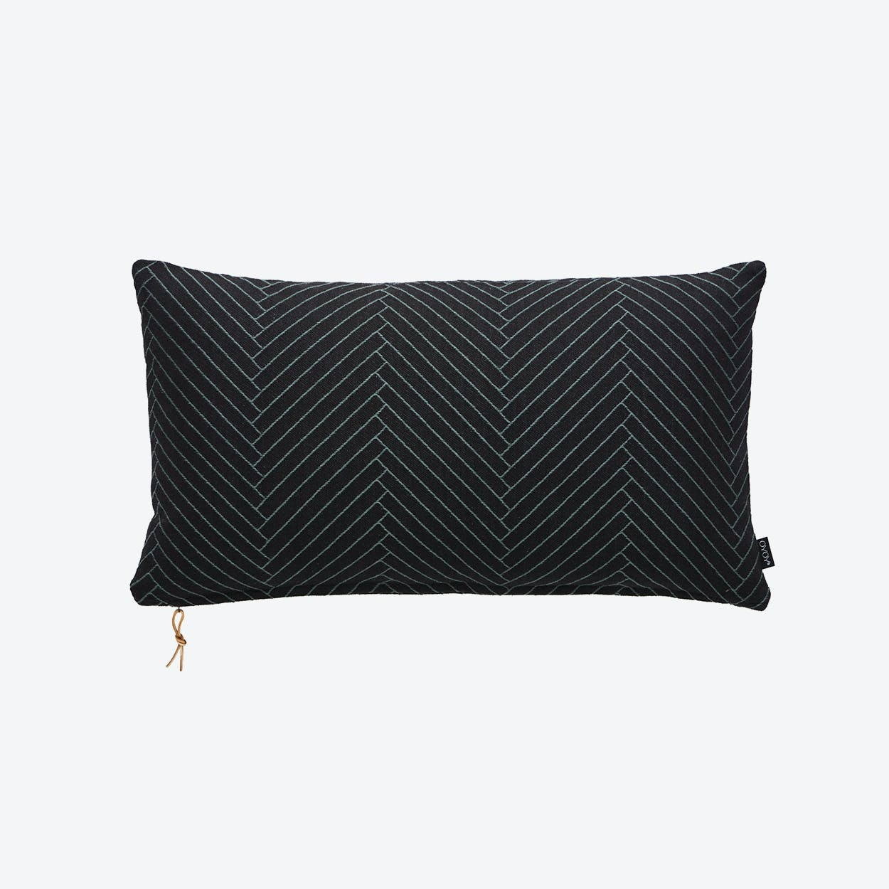 Fluffy Herringbone in Black 40X70Cm