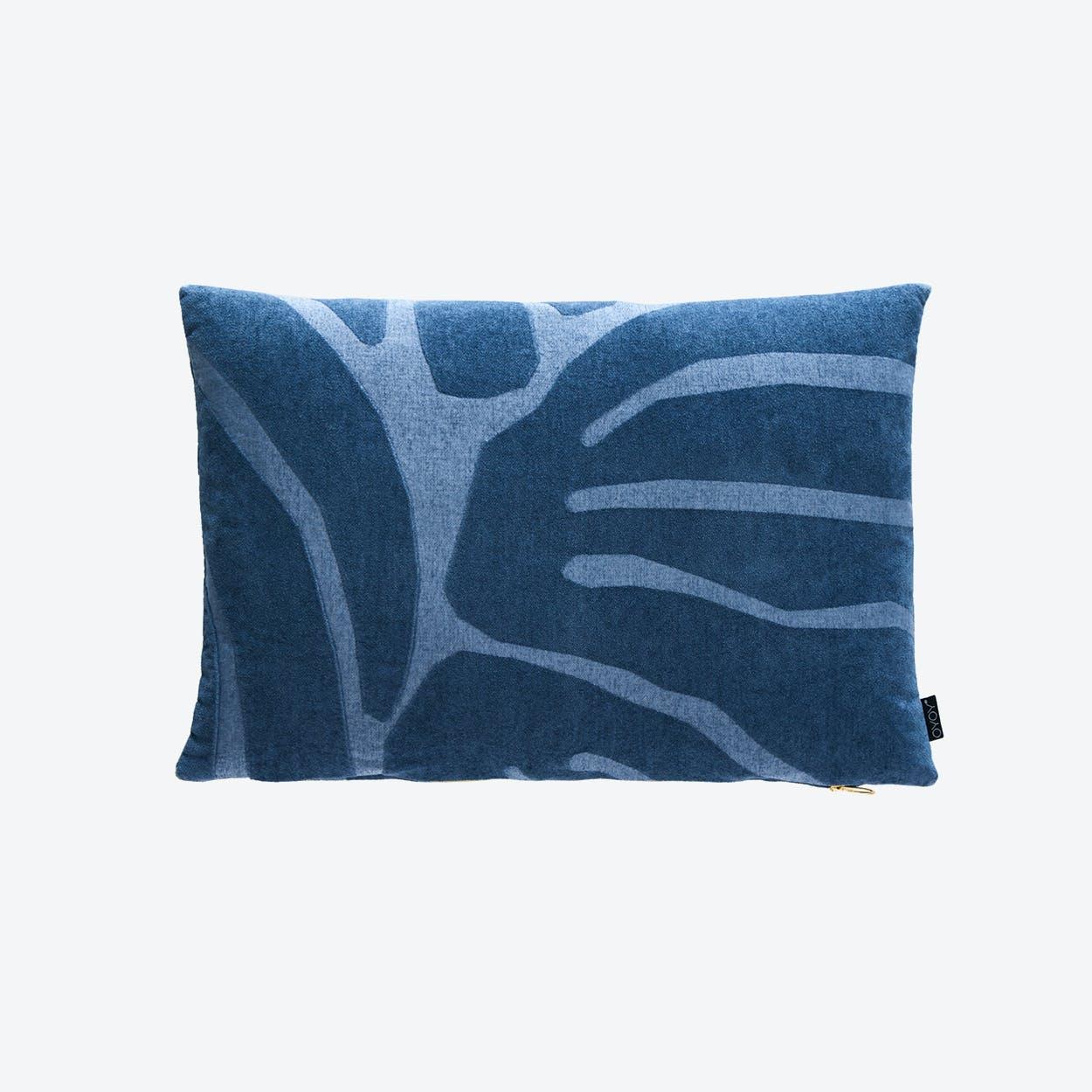 Roa Cushion in Flint Stone Blue