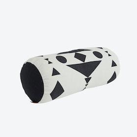 Cylinder Cushion in Black