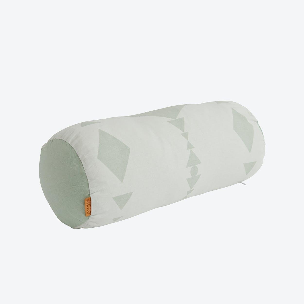 Cylinder Cushion in Mint
