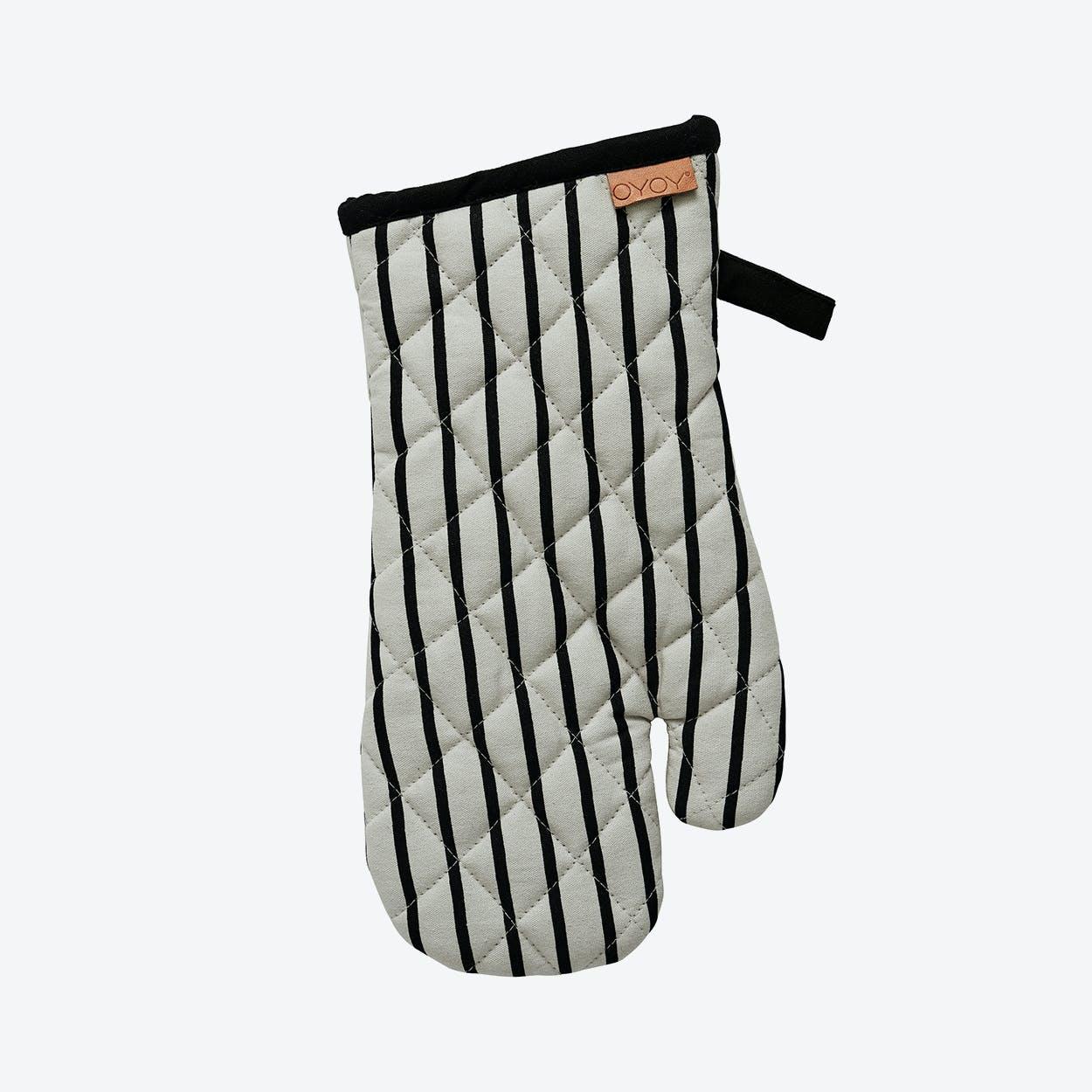 Stripy Kitchen Glove