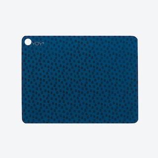 Placemats Muniin Dazzling Blue (Set of 2)