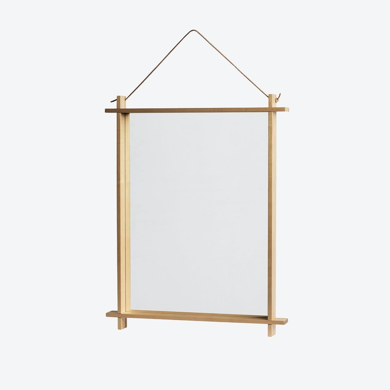 Square Mirror in Natural