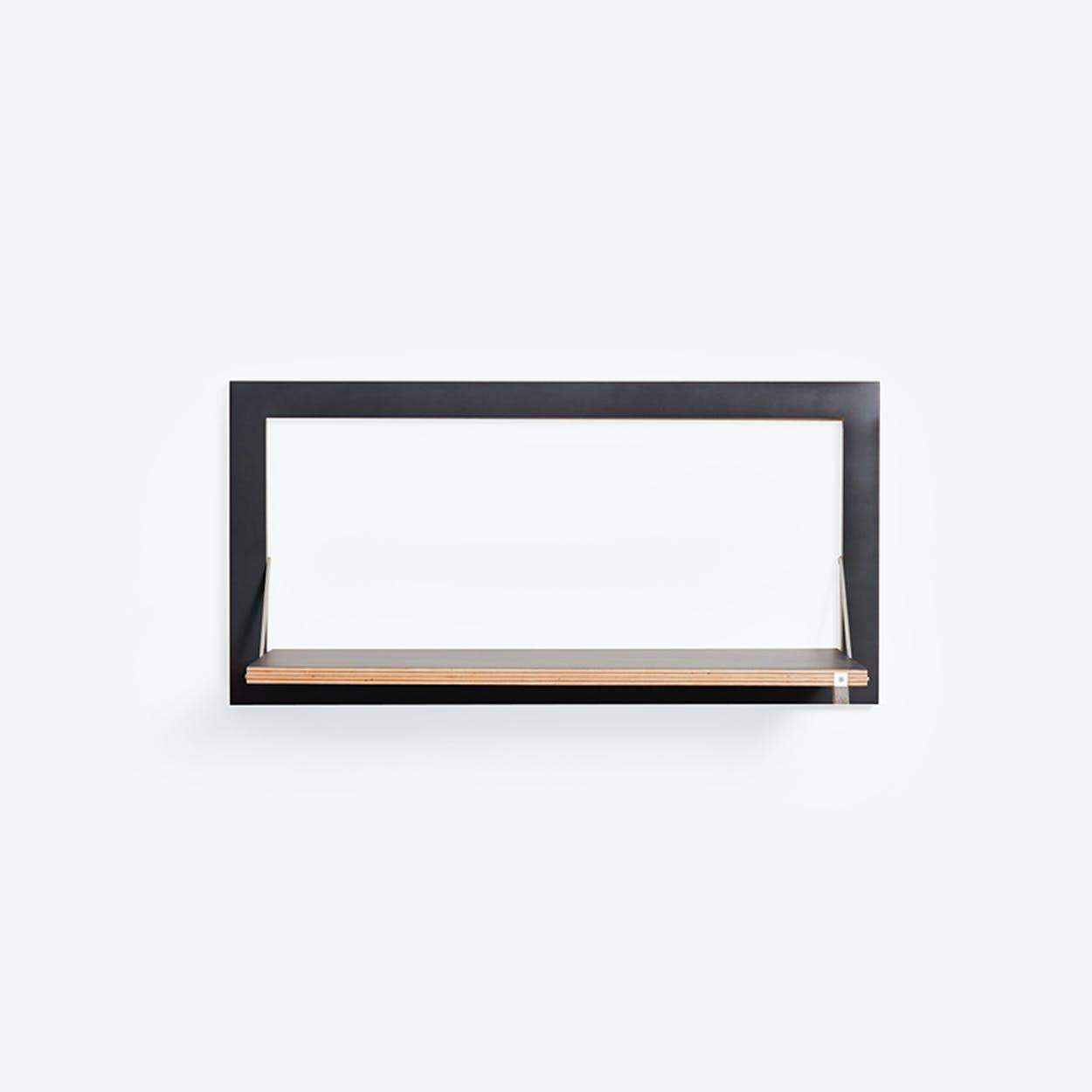 Fläpps Shelf 80x40-1 - Black