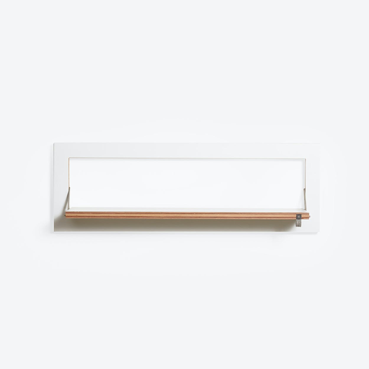 Fläpps Shelf 80x27-1 - White
