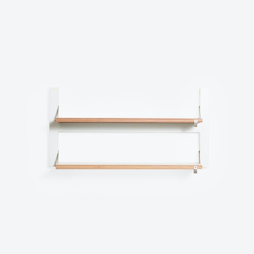 Fläpps Shelf 80x40-2 - White