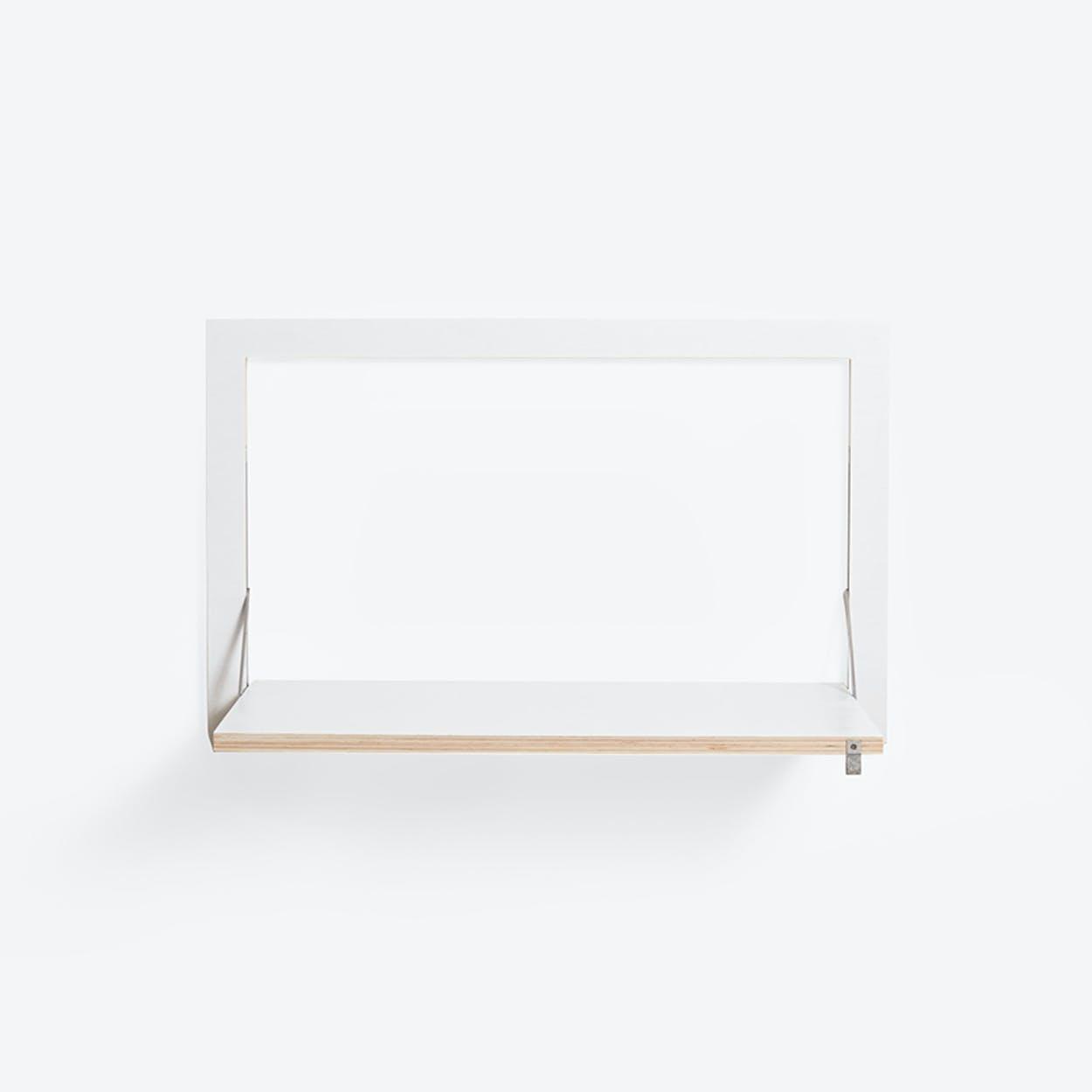 Fläpps Wall Desk/Secretary - White
