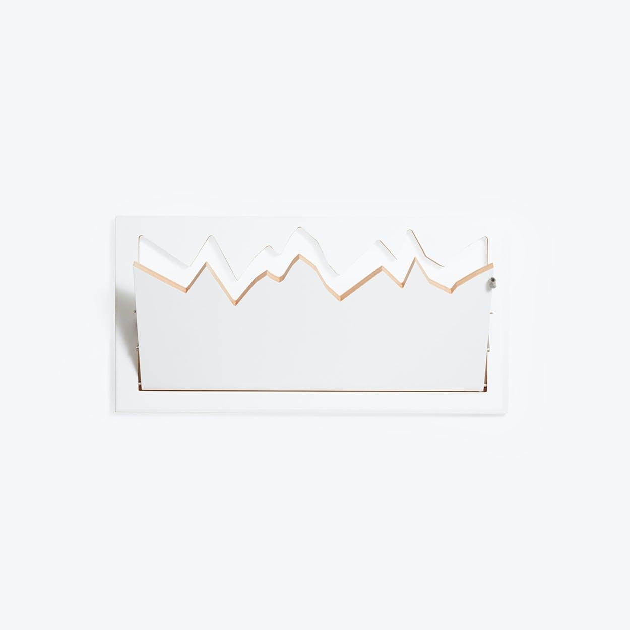 Fläpps Wardrobe/Coatrack Hillhang - White