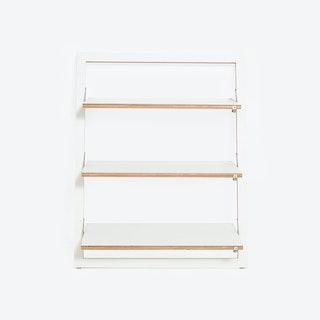 Fläpps Leaning Shelf 80x100-3 - White