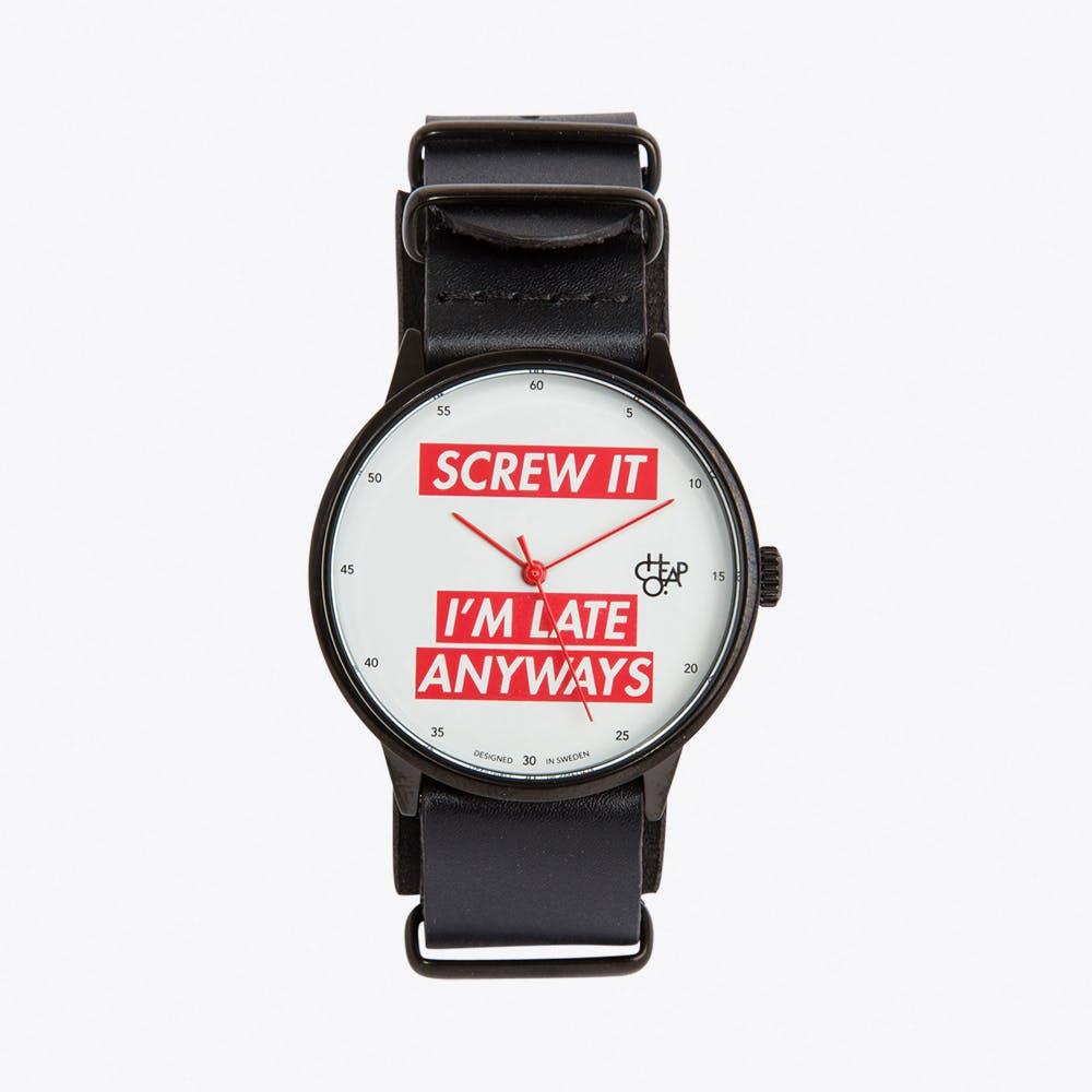 Screw It Watch