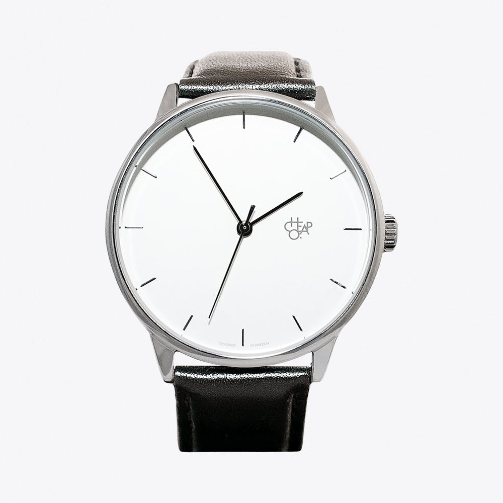 Khorshid Watch in Silver