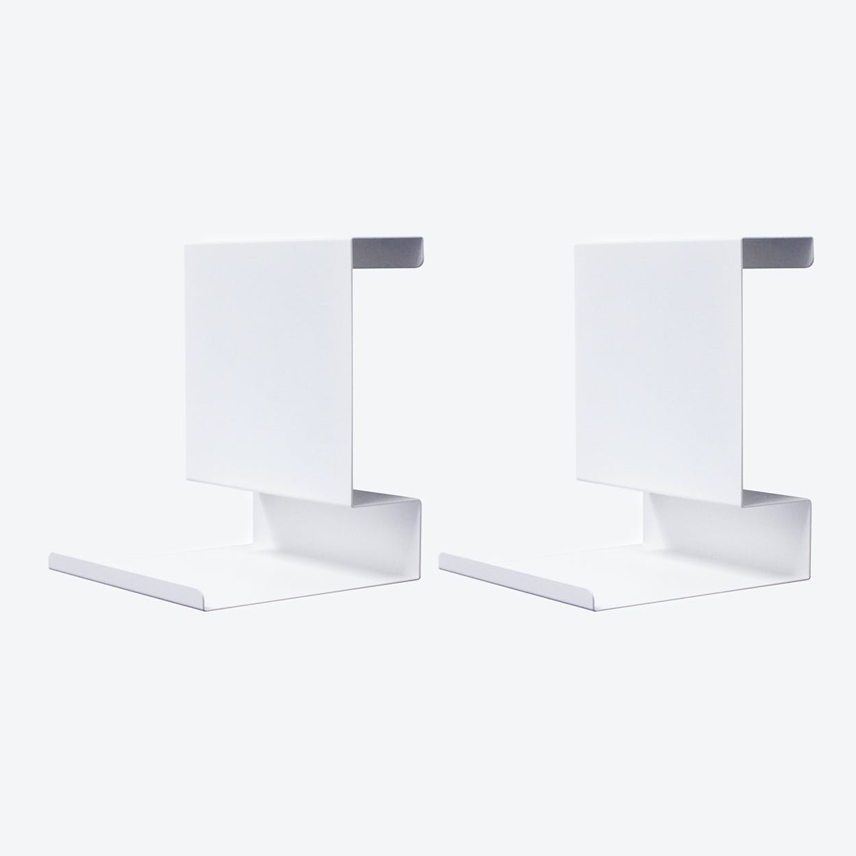 Ledge:able in White (Set of 2)