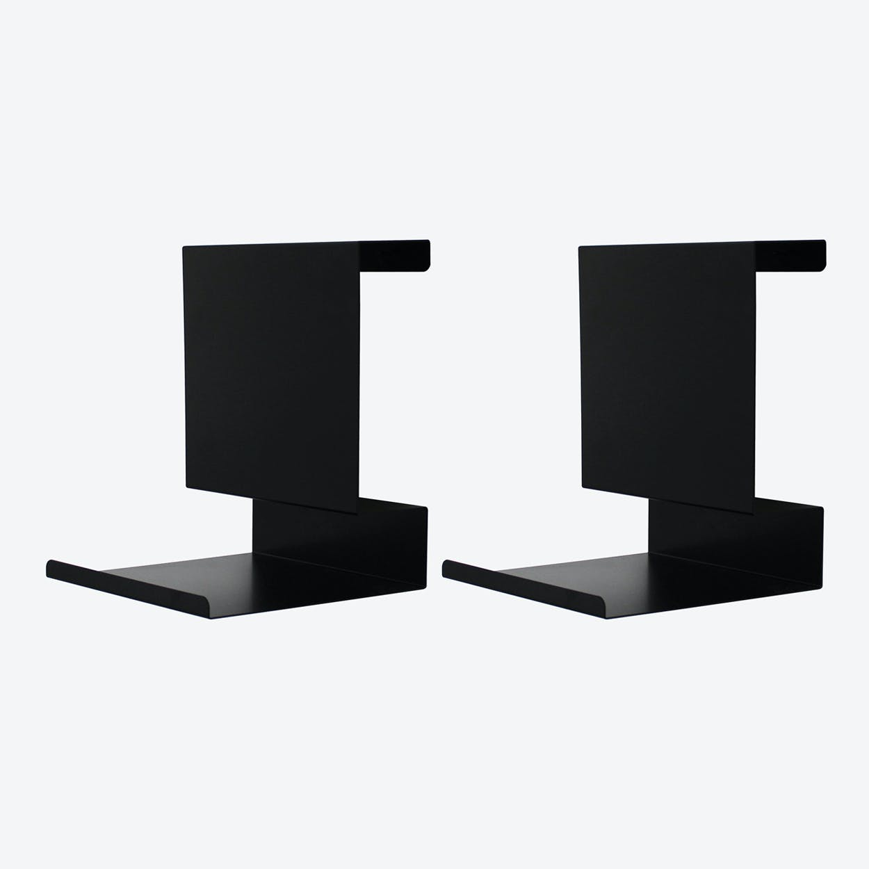 Ledge:able in Black (Set of 2)