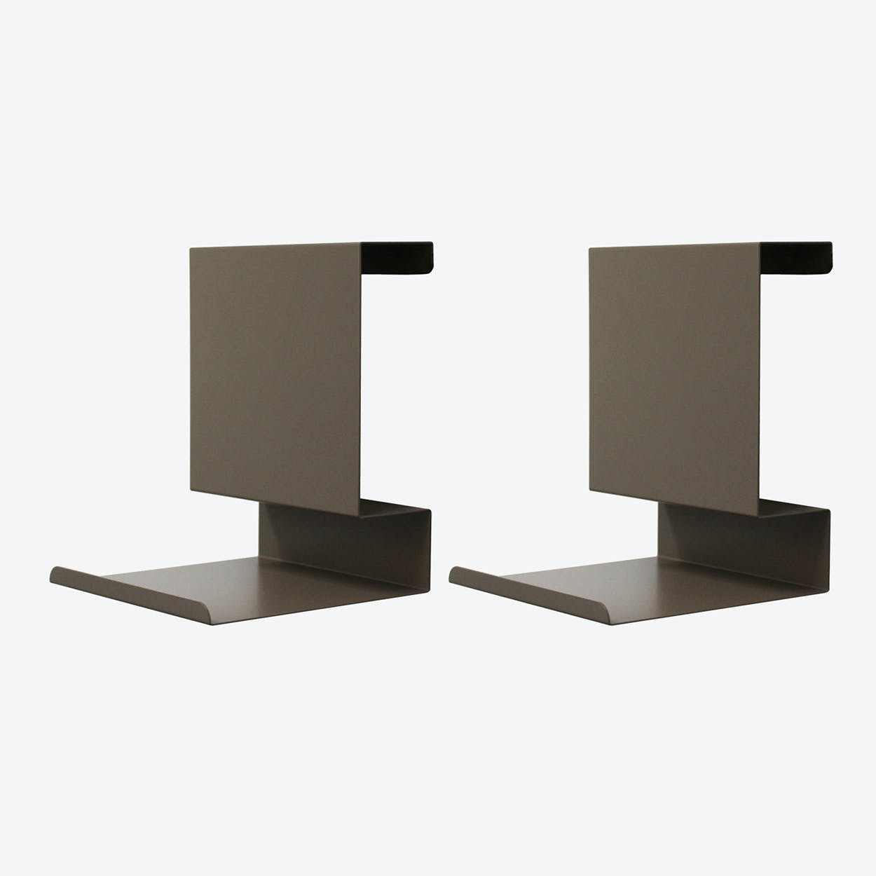 Ledge:able in Brown Grey (Set of 2)