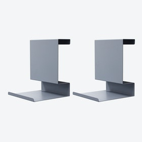 Ledge:able in Grey Blue (Set of 2)