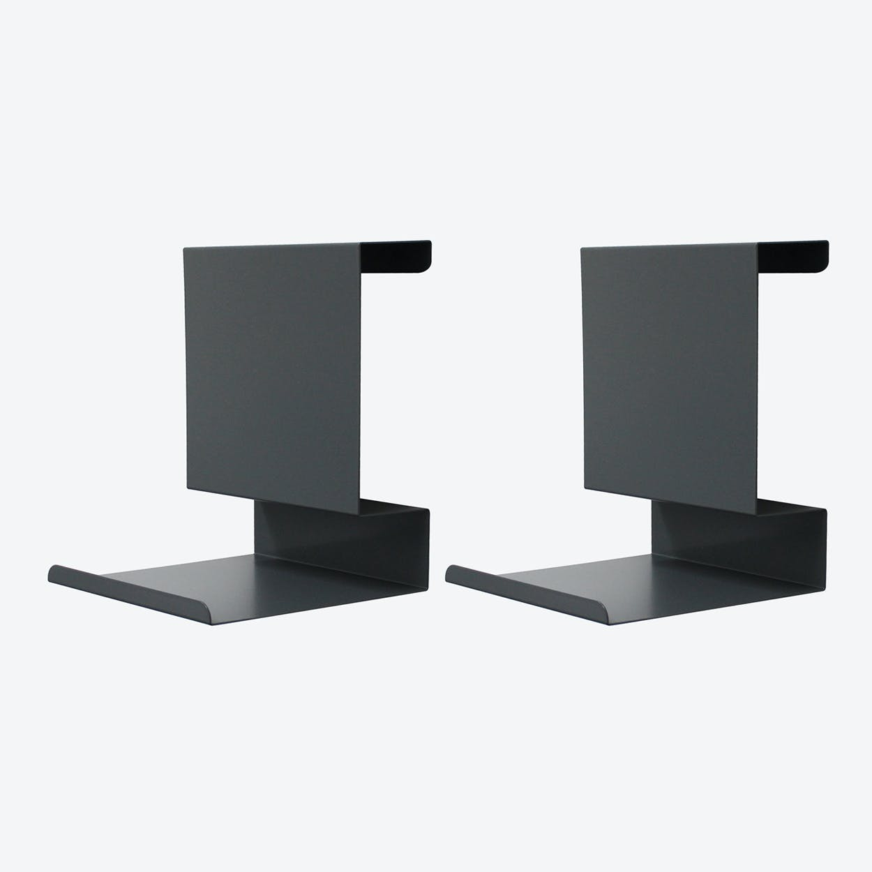 Ledge:able in Anthracite (Set of 2)
