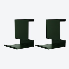 Ledge:able in Dark Green - Limited Edition (Set of 2)