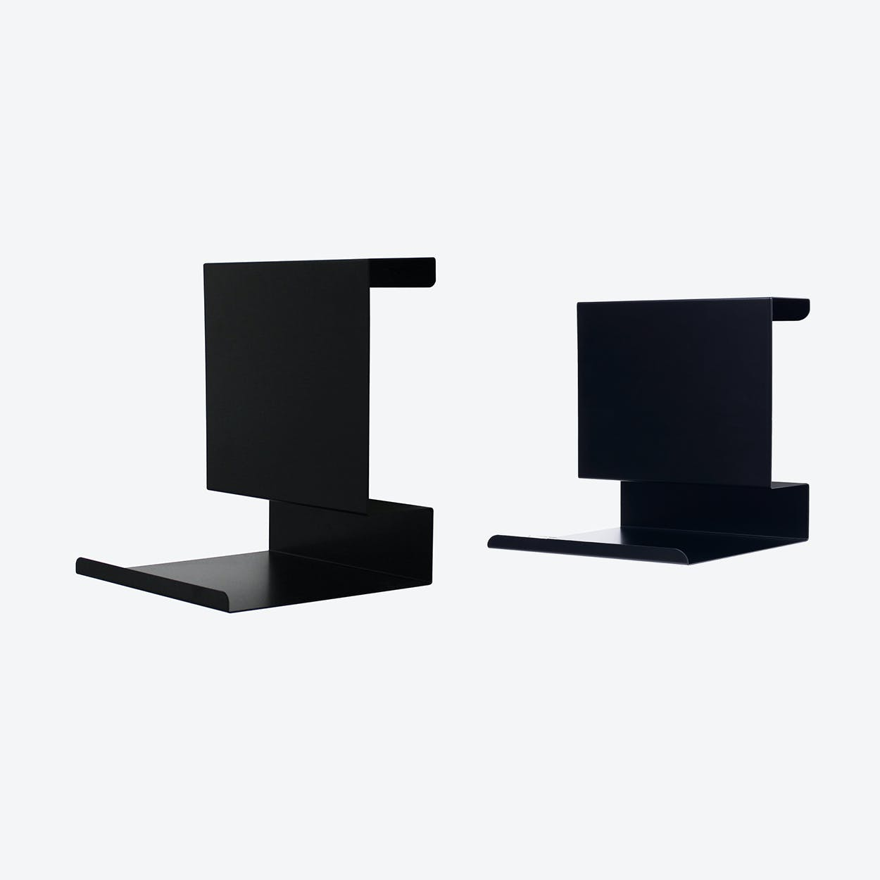 Big:ledge and Ledge:able in Black (Set of 2)